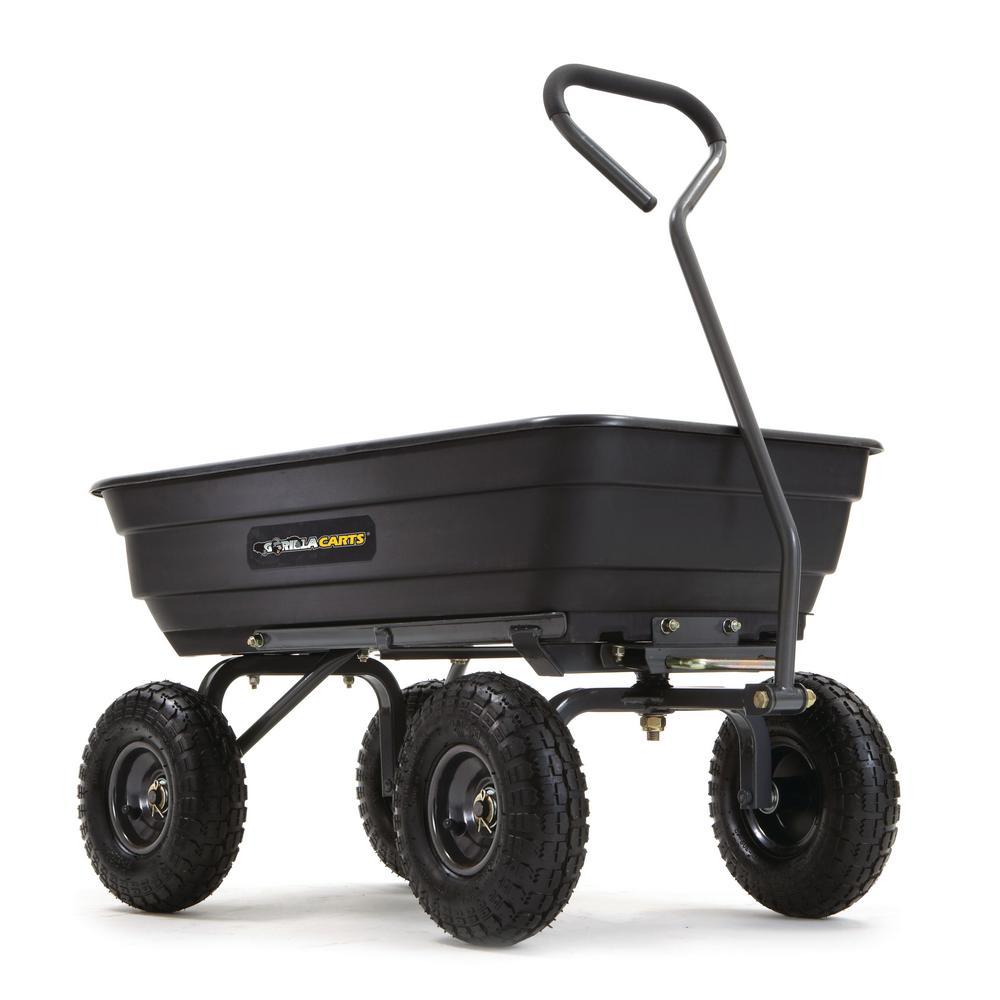 600 lb. Poly Garden Dump Cart