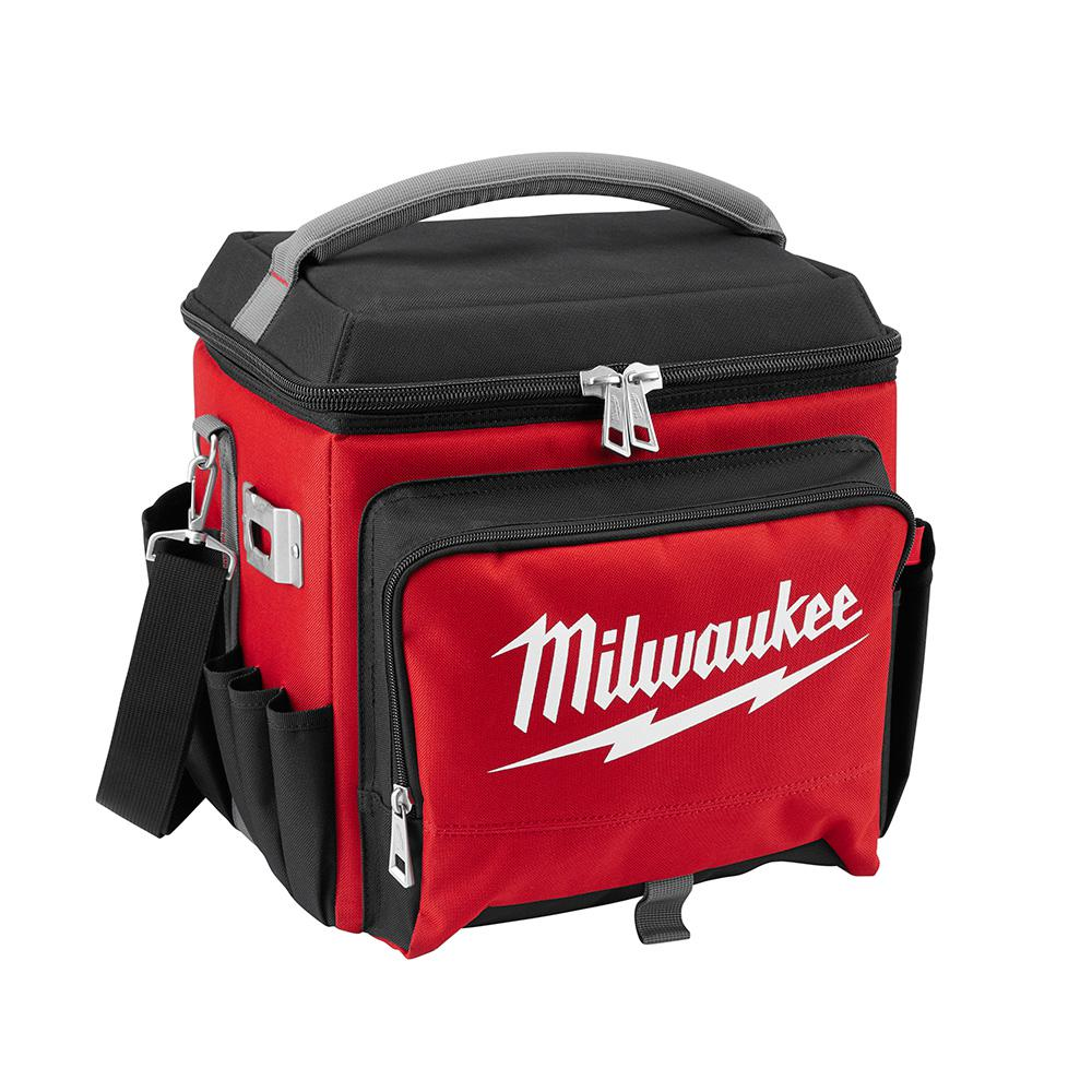 Milwaukee 21 Qt Soft Sided Jobsite Lunch Cooler 48 22 8250 The Home Depot