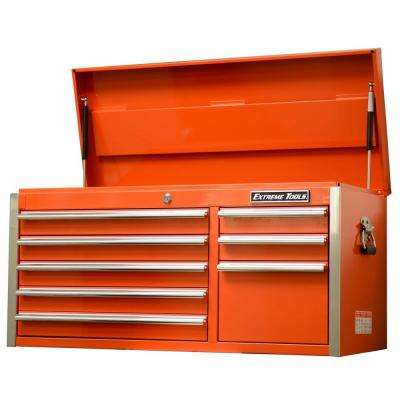 EX Standard Series 41 in. 8-Drawer Top Chest, Orange