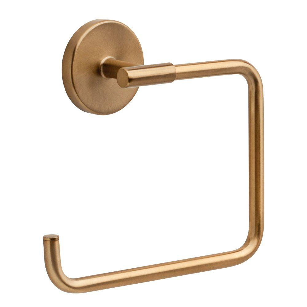 Delta Trinsic Open Towel Ring in Champagne Bronze
