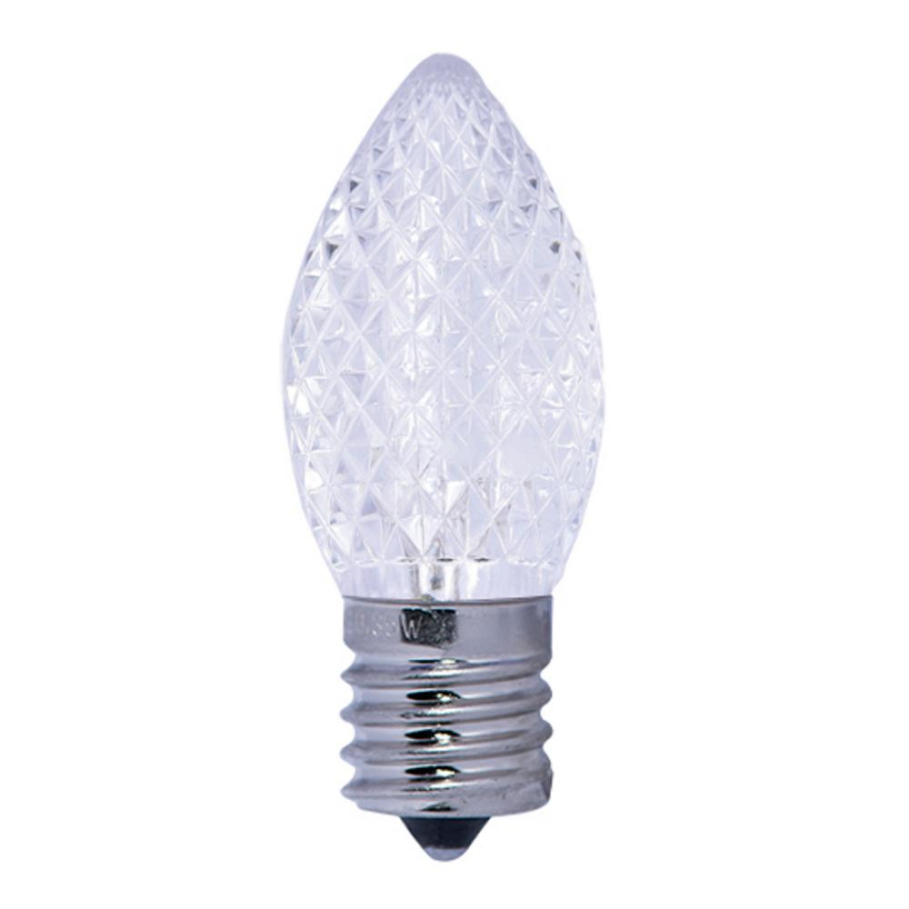 Bulbrite 40w Equivalent Warm White Light G16 Dimmable Led: Bulbrite 5W Equivalent Warm White Light C7 Non-Dimmable
