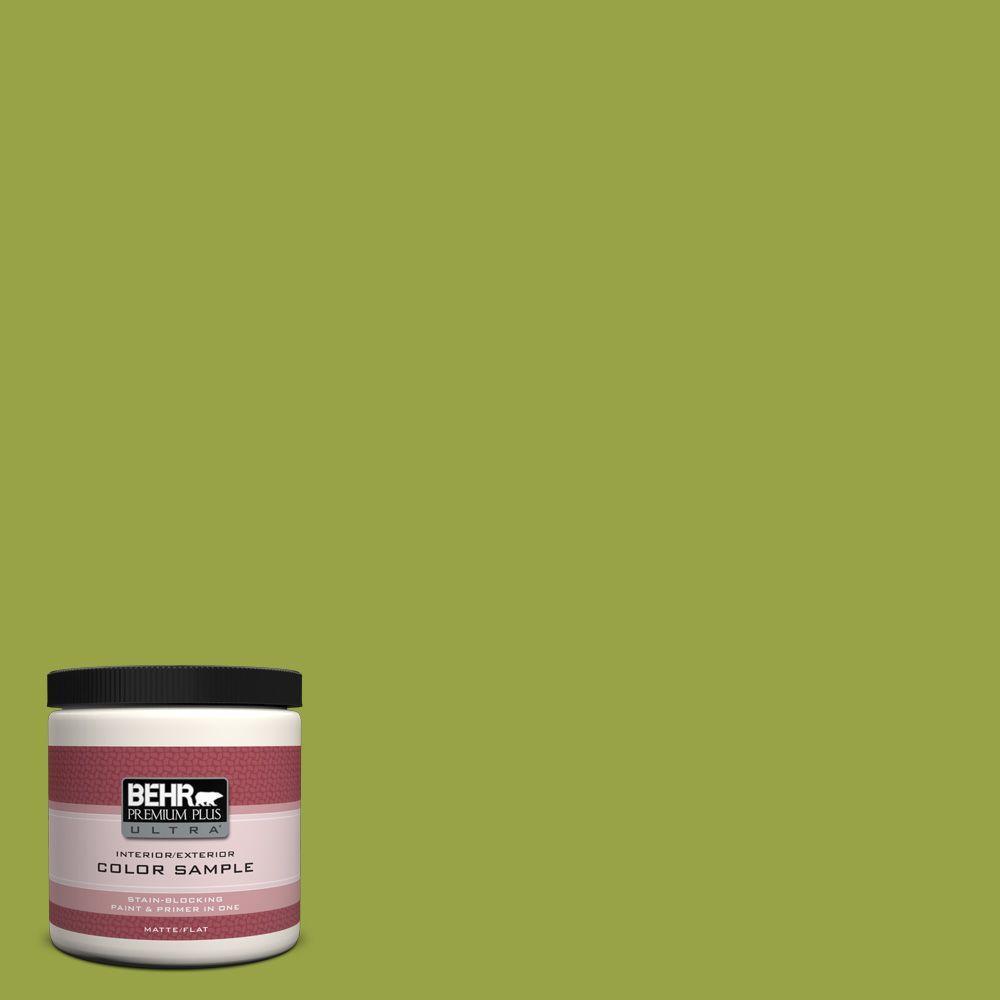 8 oz. #P360-6 Fresh Apple Interior/Exterior Paint Sample