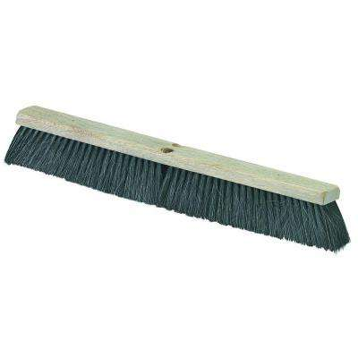 Carlisle 24 inch Fine/Medium Sweep Broom, Tampico/Horsehair Blend (Case of 12) by Carlisle