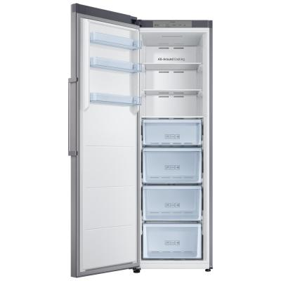 11 cu. ft. Frost Free Convertible Upright Freezer in Stainless Steel