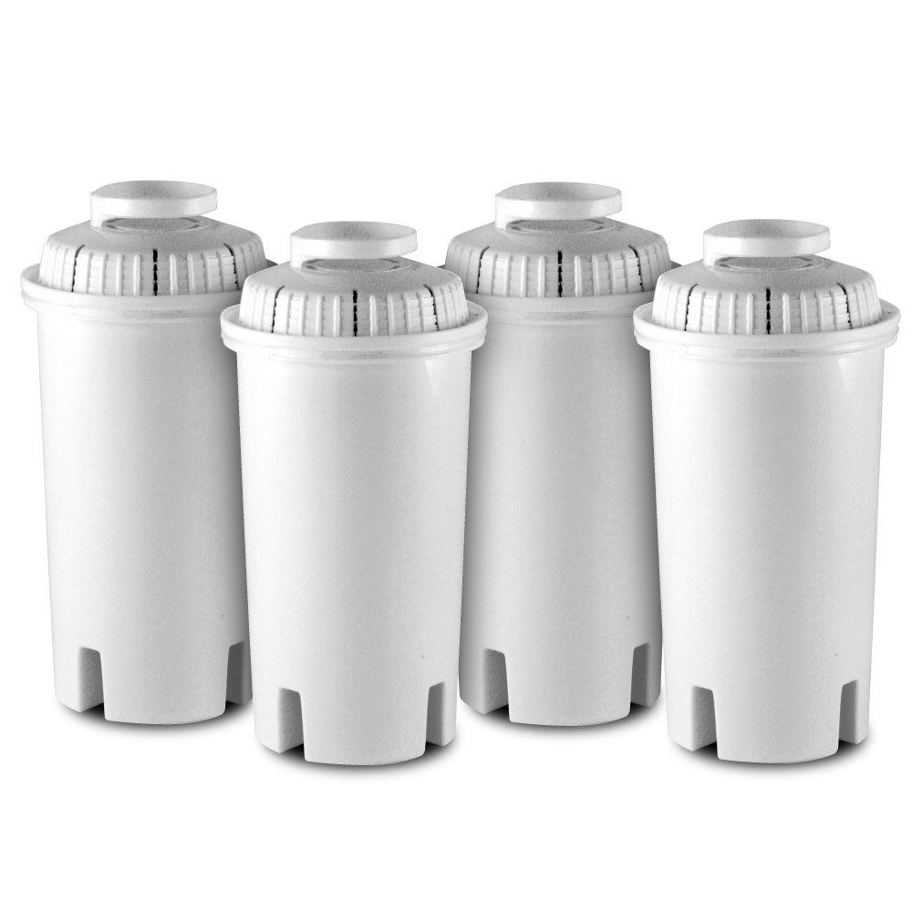 HDX HDX Universal Water Filter Cartridge Replacement Filter (4-Pack), Whites