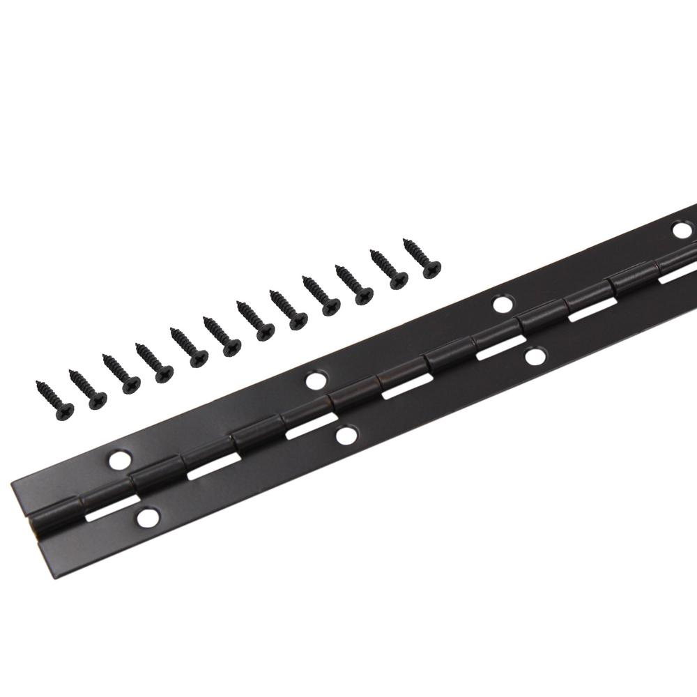 1-1/16 in. x 30 in. Oil-Rubbed Bronze Continuous Hinge