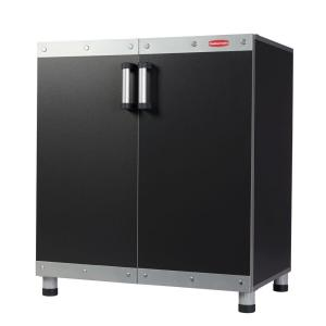 Rubbermaid Fasttrack 30 In Garage Base Cabinet In Black