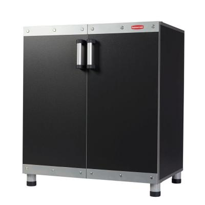 FastTrack 34 in. H x 29.8 in. W x 19.38 in. D Garage Base Freestanding Cabinet in Black