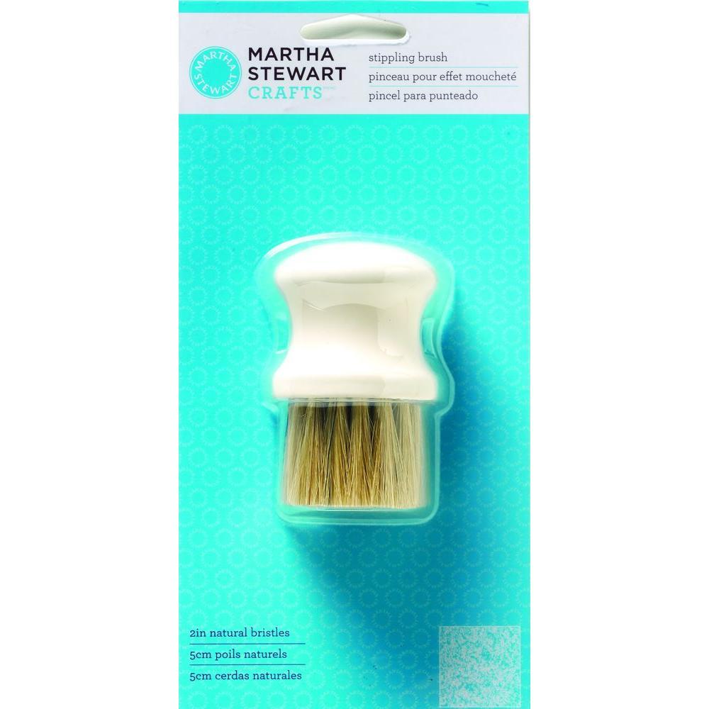 Martha Stewart Crafts 4 in. 1-Piece Stippling Brush