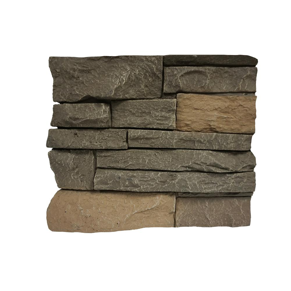 Stacked Stone Stratford 11 in. x 11 in. Faux Stone Siding