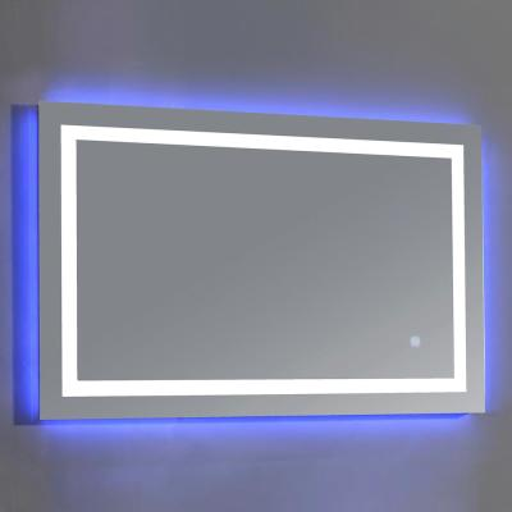 Jovian 27 in. x 43 in. LED Frameless Single Mirror