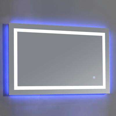 Jovian 27 in. x 43 in. LED Frameless Single Mirror