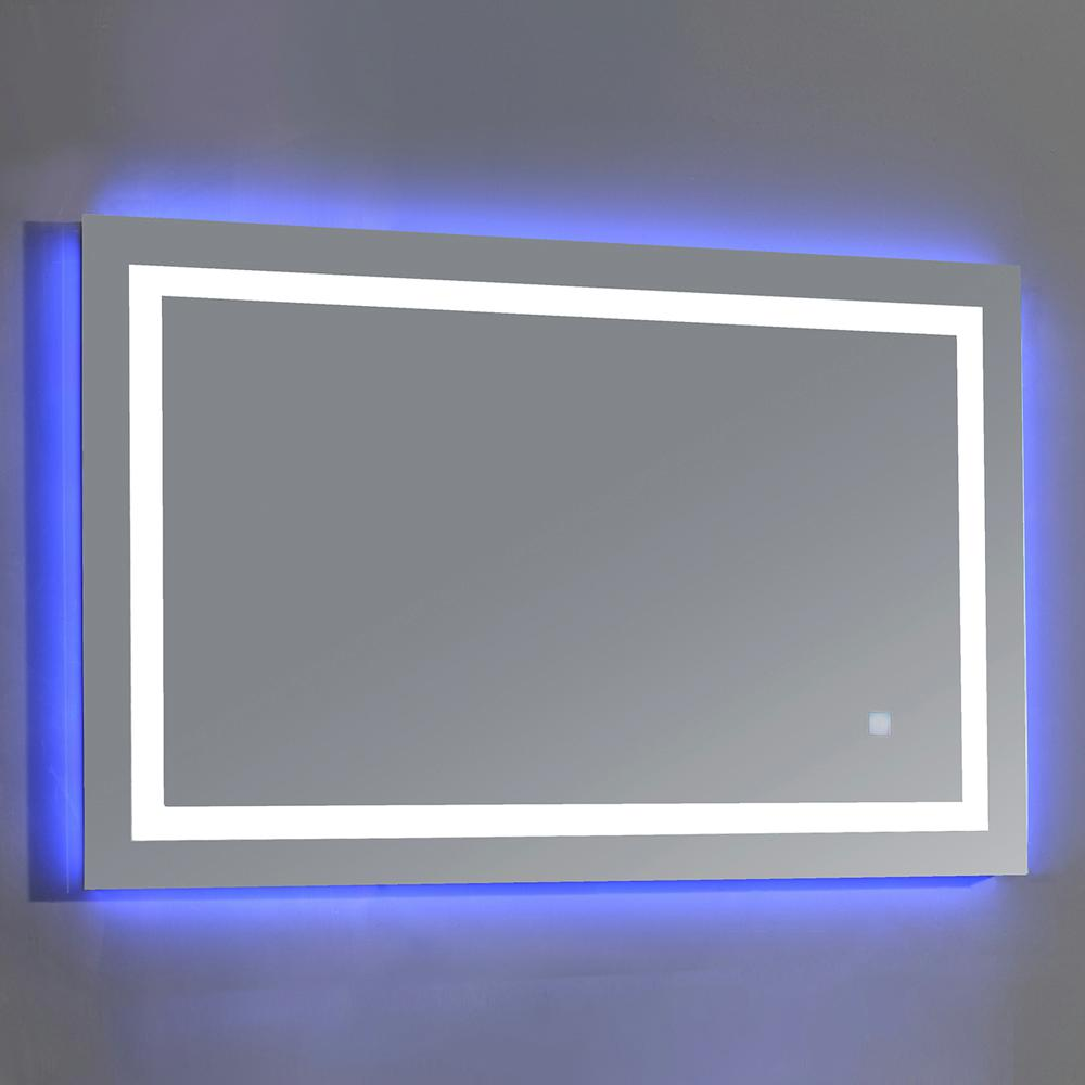 OVE Decors Jovian 27 in. x 43 in. LED Frameless Single Mirror