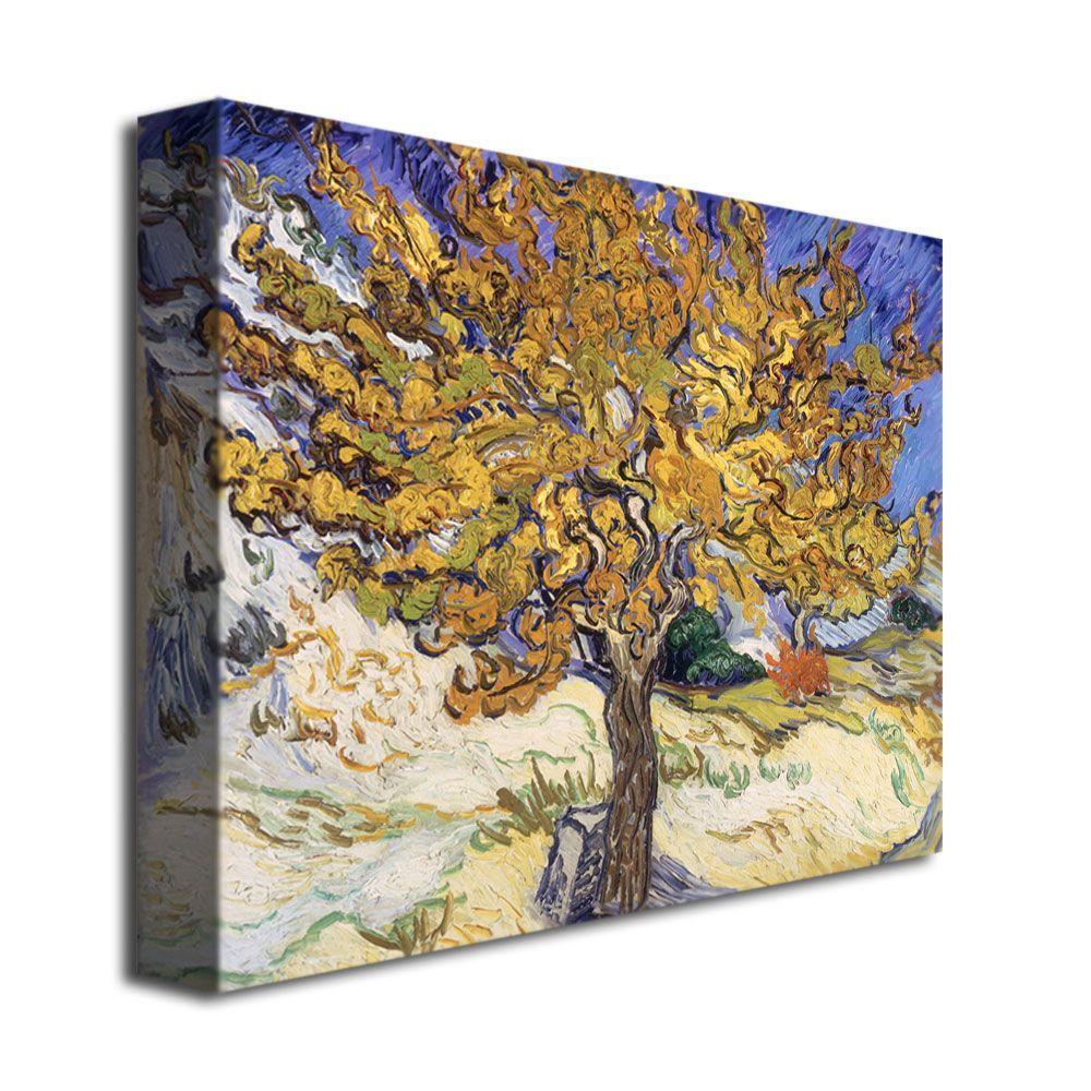18 in. x 24 in. Mulberry Tree, 1889 Canvas Art