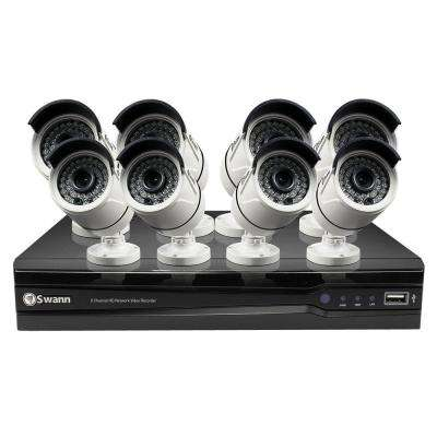 NVR8-7400 4MP 2TB NVR with 8 x NHD-818 4MP Bullet Cameras