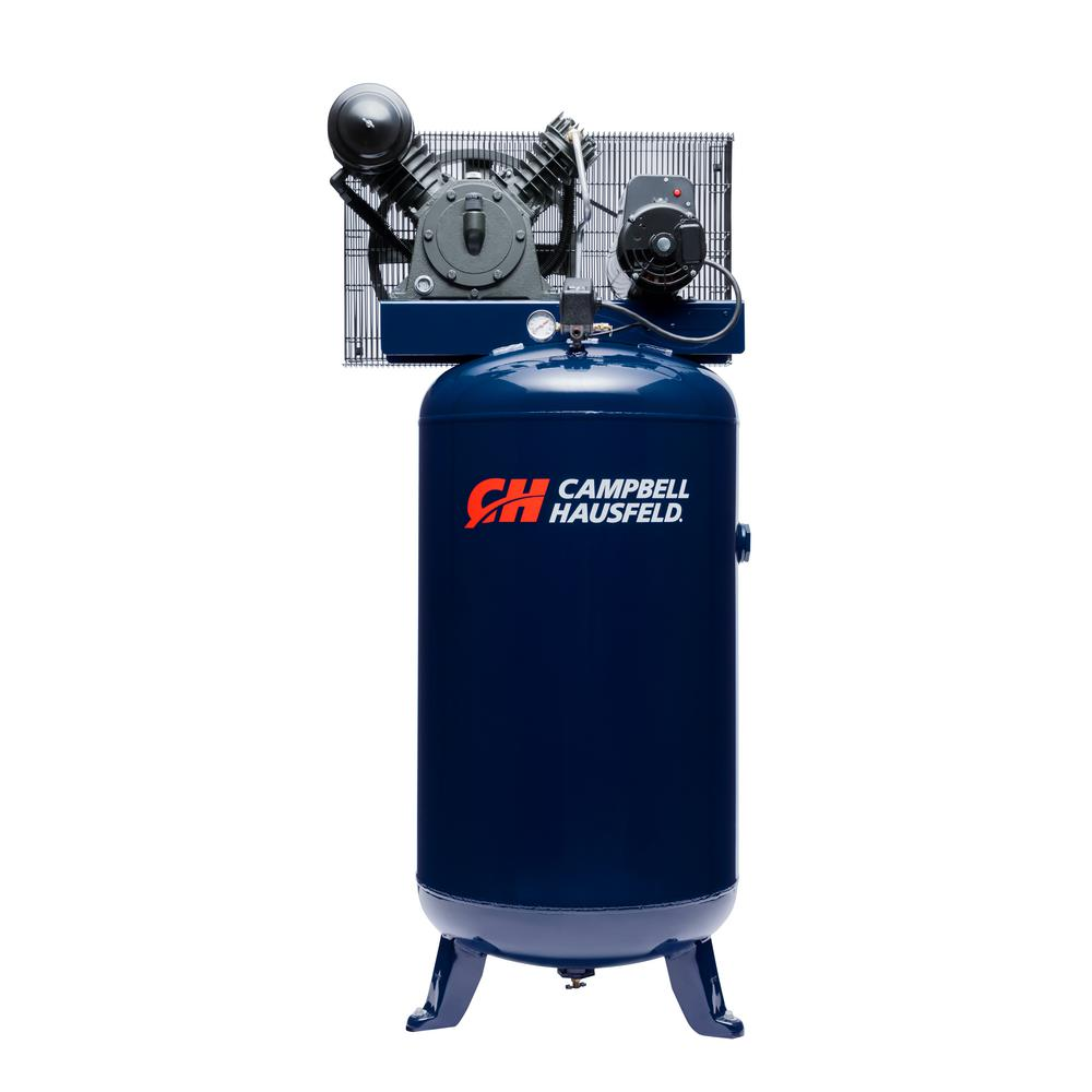 80 Gal. Vertical Two Stage Stationary Electric Air Compressor 14CFM 5HP