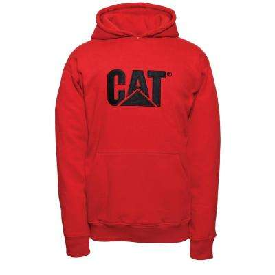 Men's Size 2X-Large Red Tide Cotton/Polyester Trademark Hooded Sweatshirt