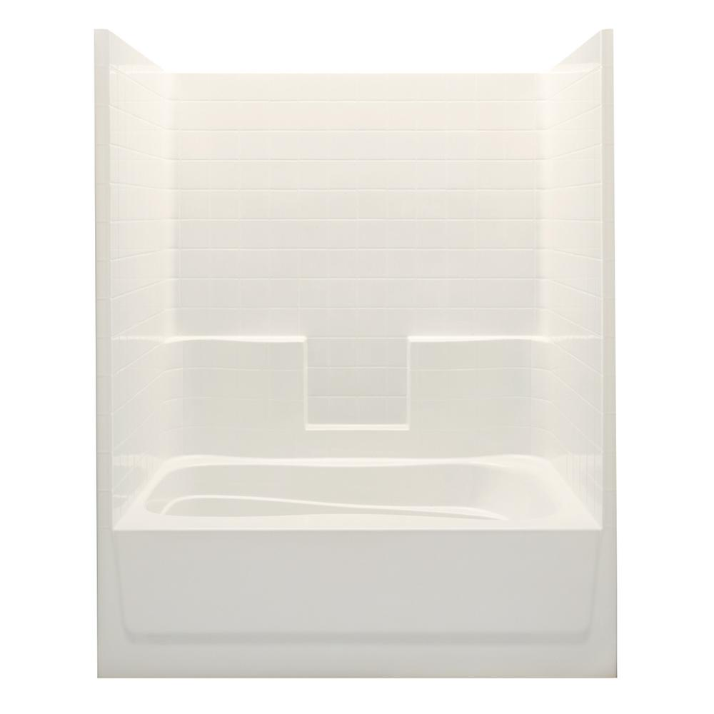 Everyday Smooth Tile 60 in. x 36 in. x 76 in.
