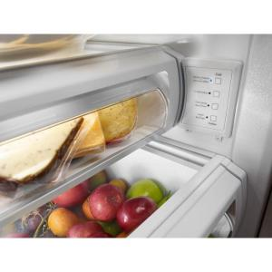 KitchenAid 25.5 cu. ft. Built-In Side by Side Refrigerator in ... on