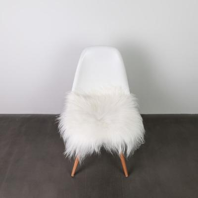 Icelandic White 15 in. x 15 in. Sheepskin Chair Pad