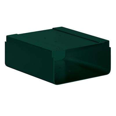 Newspaper Holder for Roadside Mailbox and Mail Chest, Green