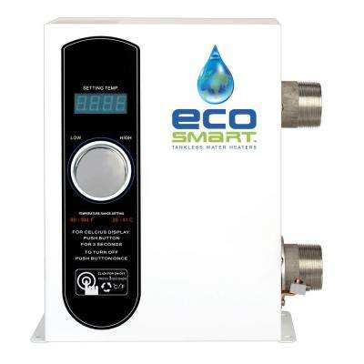 18 kW 2.74 GPM Smart Pool Electric Pool Tankless Water Heater
