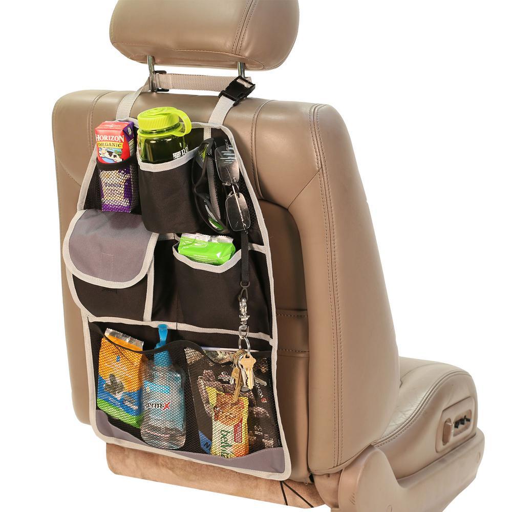 E-Z Travel 7 Pockets Oxford Material Car Seat Back Organizer