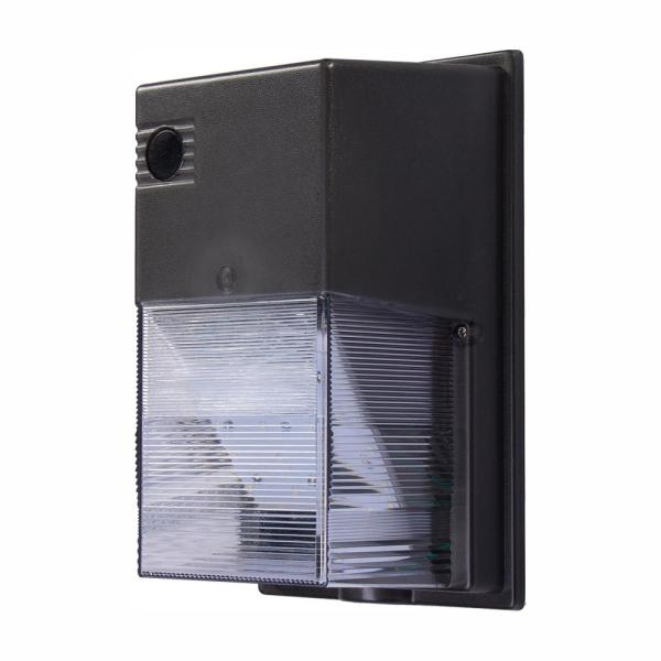 150-Watt Equivalent Integrated Outdoor LED Wall Pack, 2500 Lumens, Dusk to Dawn Outdoor Light