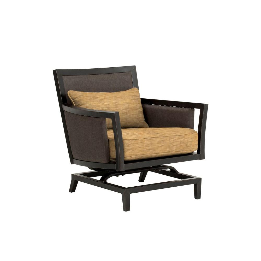 Greystone Patio Motion Lounge Chair in Toffee -- CUSTOM