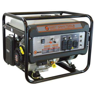 5500-Watt Gasoline Power Generator