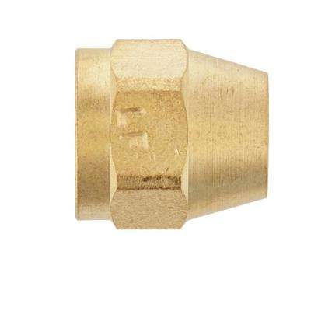 Brass Flare Nut Fine Thread FL 3/8 in.