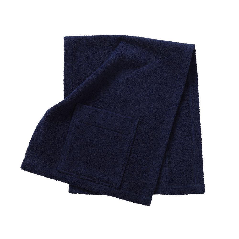 Company Cotton Navy 1-Size Dog Towel