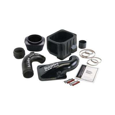 Ram-Air Intake System with Dry Filter for 2004-2005 Chevrolet, GMC, 6.6 l Duramax Diesel LLY Engine