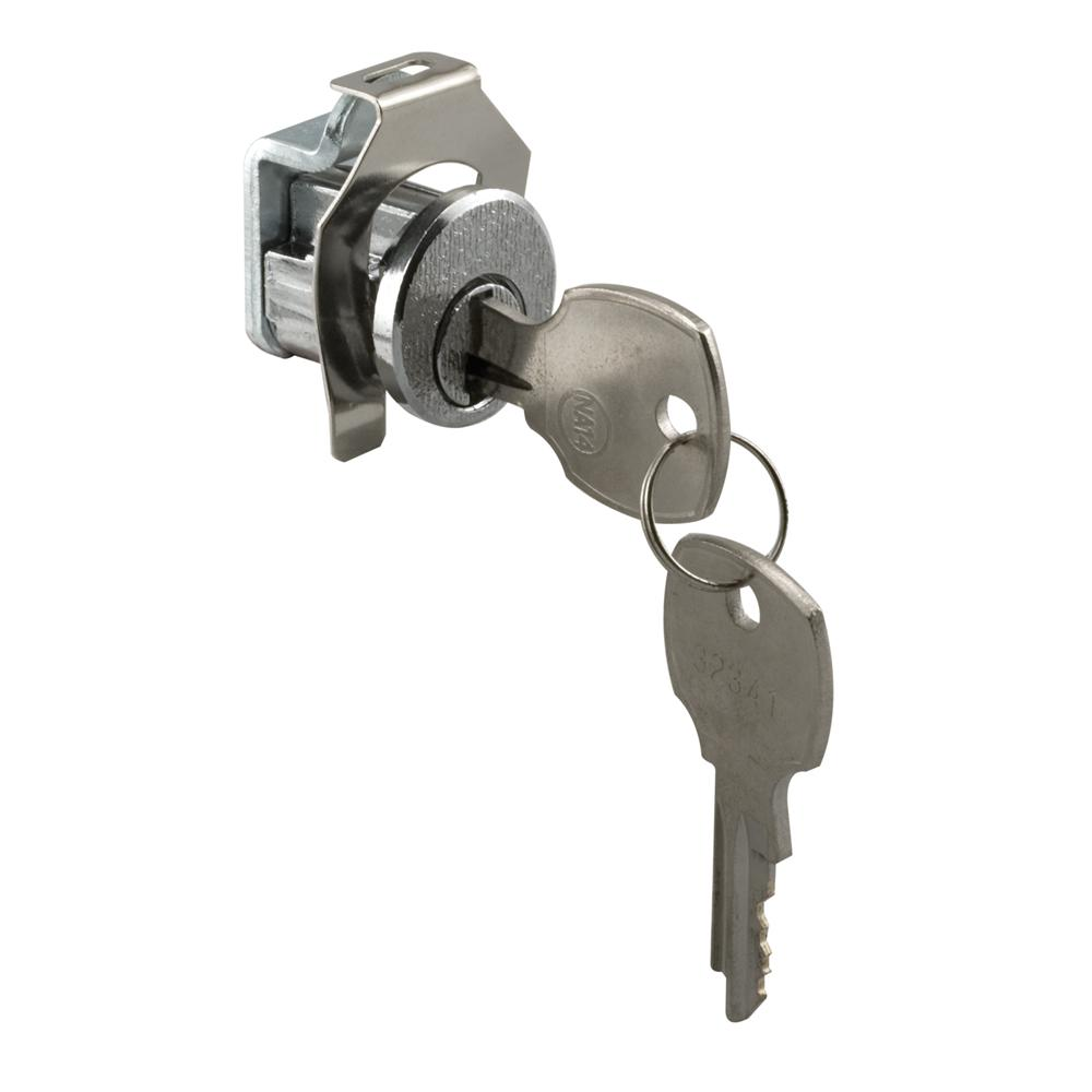 Prime-Line Nickel National Counter-Clockwise Mail Box Lock