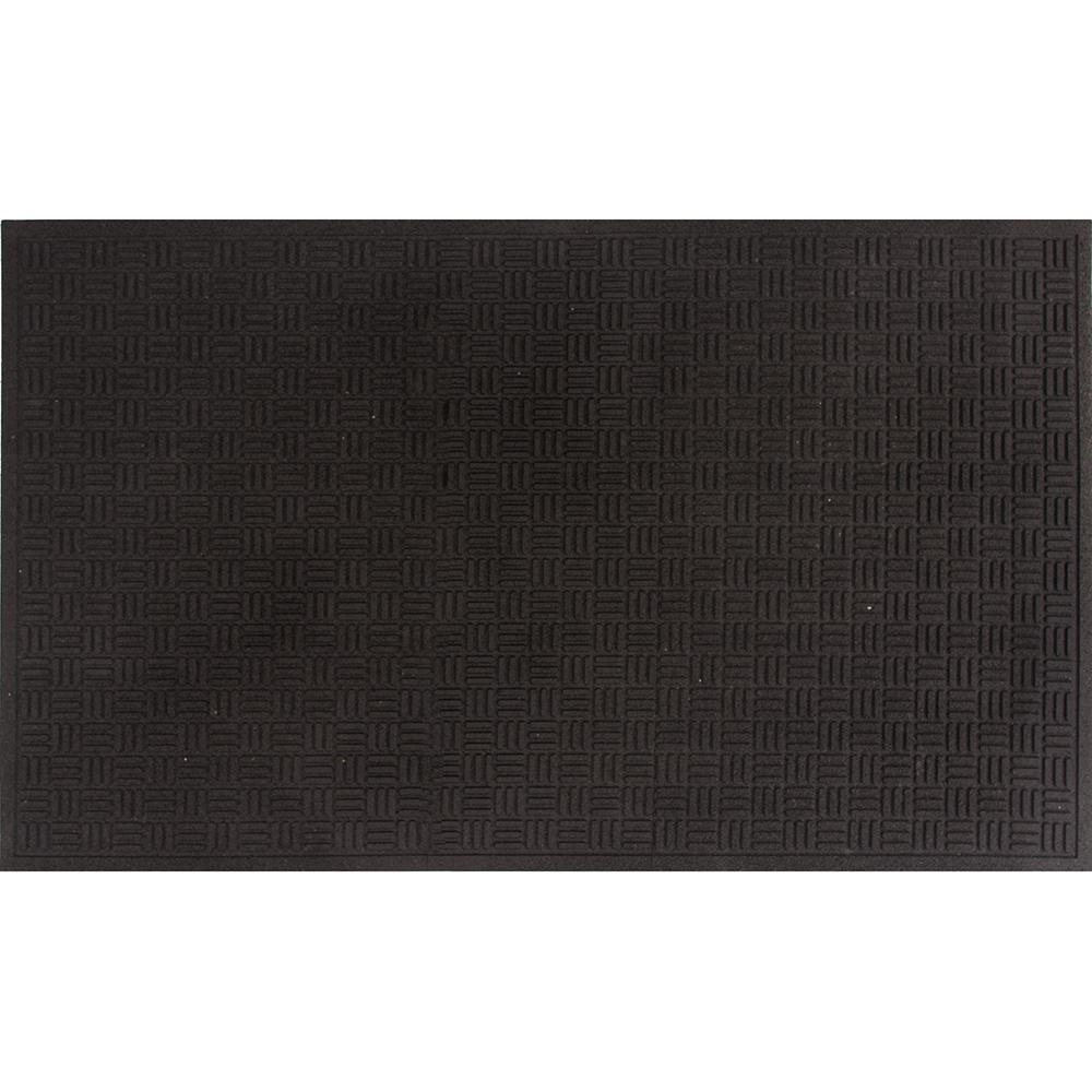 Apache Mills Mission Trapper Black 17 in. x 26 in. Door Mat ...