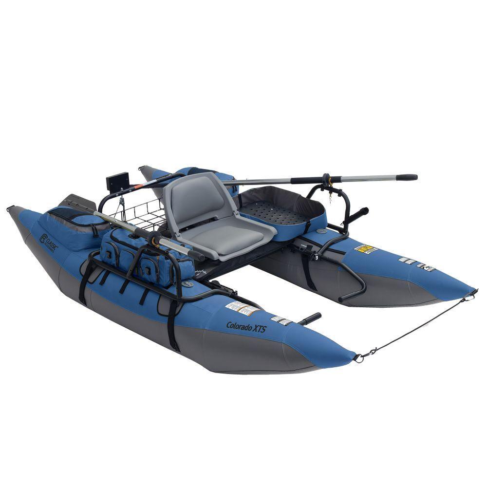 Colorado XTS Pontoon Boat with Swivel Seat