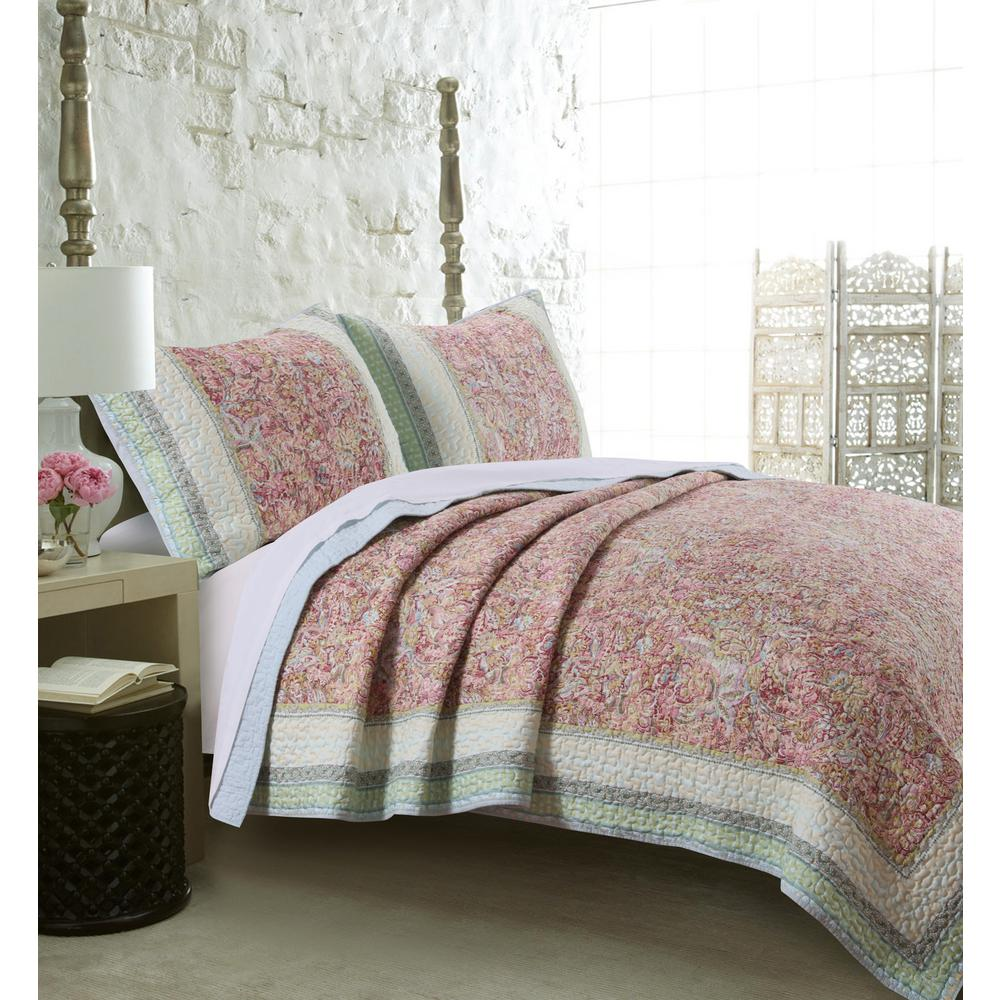 quilt fashions queen product set ivory cfm master piece greenland home bliss sets