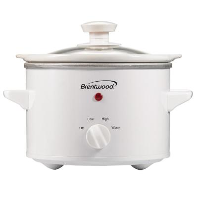 1.5 Qt. White Slow Cooker