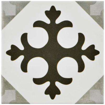 Atelier Antracita Latin 5-7/8 in. x 5-7/8 in. Ceramic Floor and Wall Tile (5.73 sq. ft. / case)