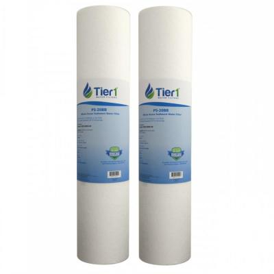 Replacement for DGD-5005-20, SDC-45-2005 5 Micron 20 in. x 4.5 in. Spun Wound Polypropylene Water Filter Cart. (2-Pack)