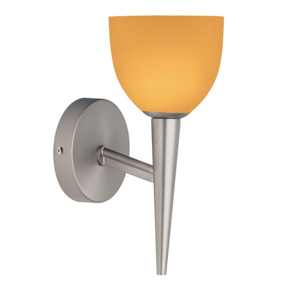 Filament Design Jerrell 1-Light Satin Chrome Sconce