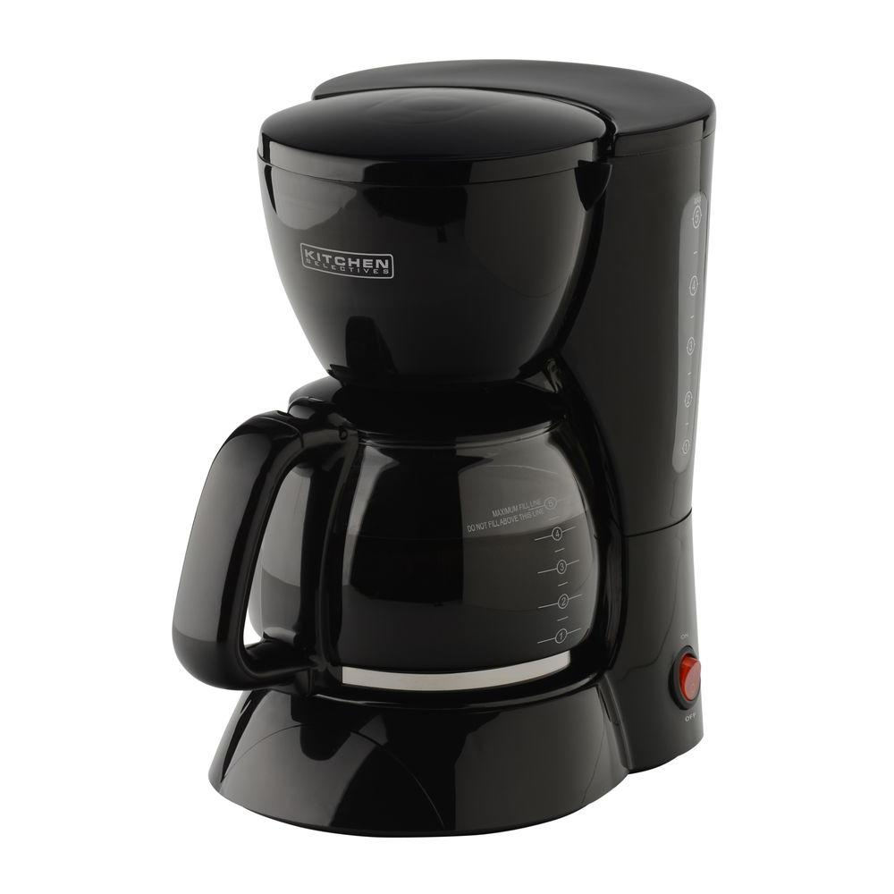 5 Cup Coffee Maker Kitchen Selectives 5 Cup Coffee Maker 1495 The Home Depot
