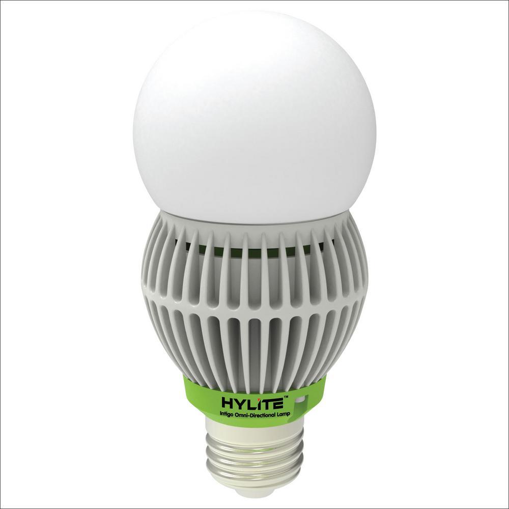 20W Intigo Omni-Directional LED Lamp 100W HID Equivalent 5000K 2920 Lumens Ballast Bypass 120-277V UL Listed