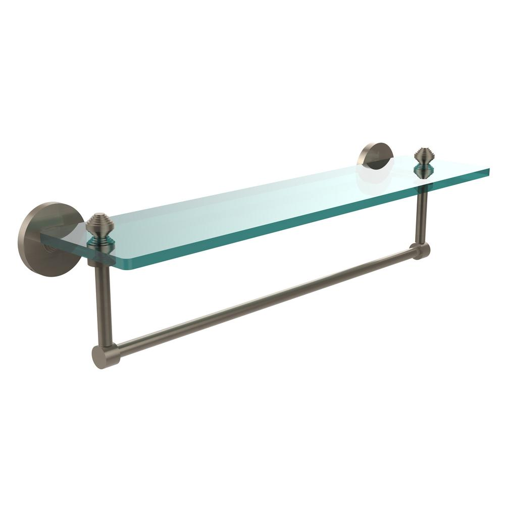 Allied Brass Southbeach Collection 22 in. Glass Vanity Shelf with ...