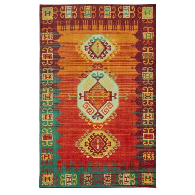 Teton Multi 8 ft. x 10 ft. Tribal Area Rug