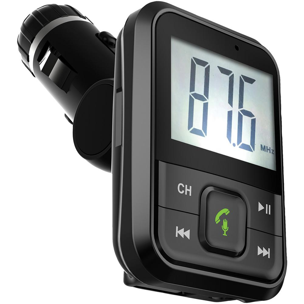 Supersonic Bluetooth FM Transmitter with Large Display