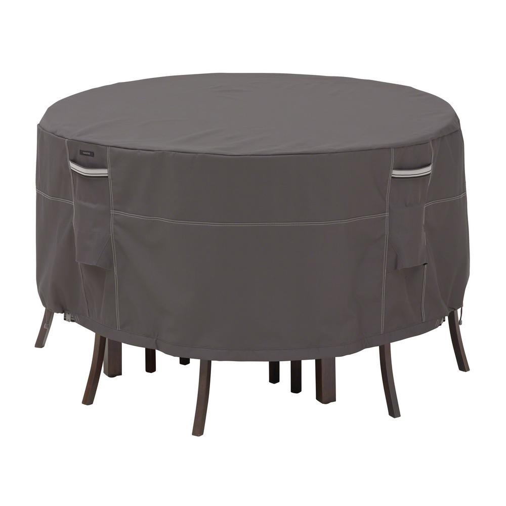 Classic accessories ravenna small round patio table and for Small patio table and 4 chairs