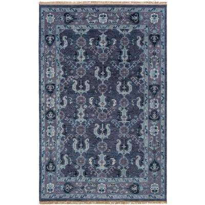 Kronos Navy 9 ft. x 13 ft. Area Rug