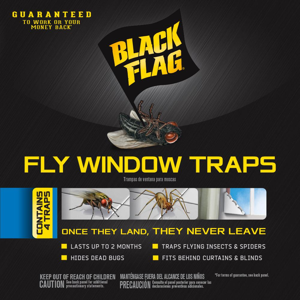 Black Flag Fly Window Trap (4-Pack)