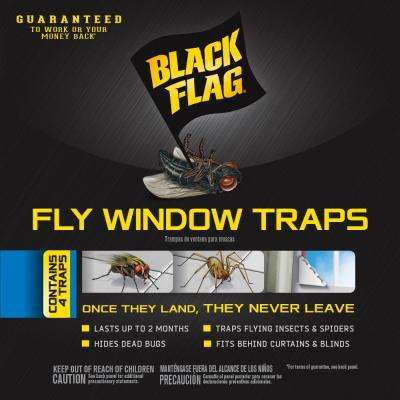 Fly Window Trap (4-Pack)